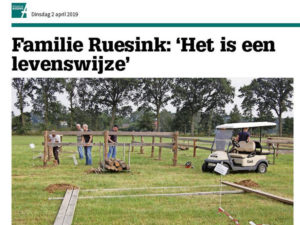 De band 2 april eerste artikel